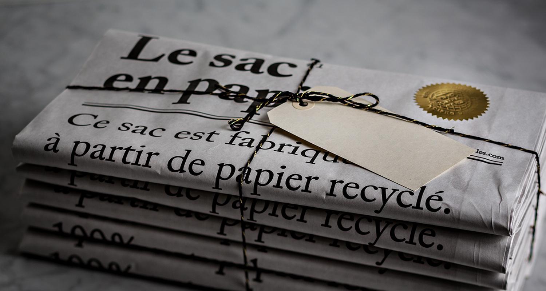 Le sac en papier - fenomen papierowej torby