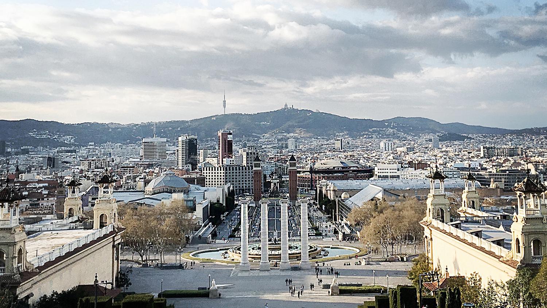 Powrót do Barcelony. Montjuïc i Plac Hiszpański