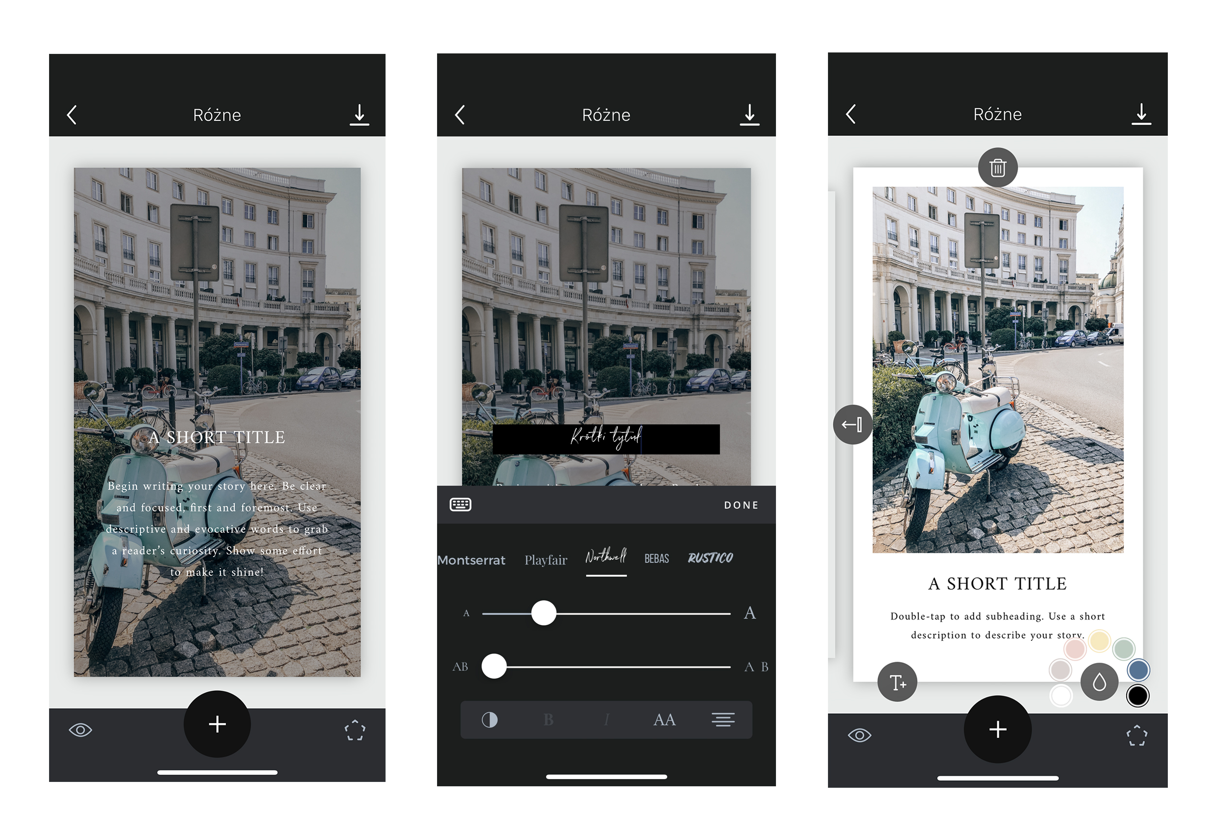 Znalezione obrazy dla zapytania aplikacje do instagrama unfold