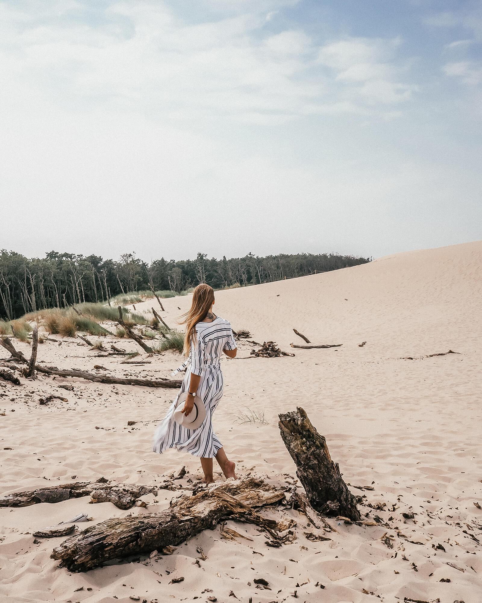 Polska Sahara - Ruchome Wydmy w Łebie w Słowińskim Parku Narodowym