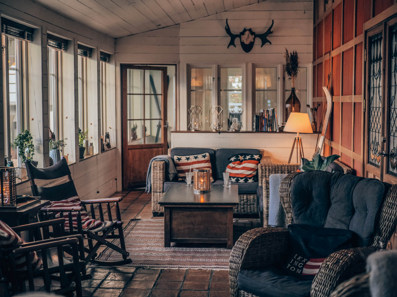 The Lodge, hotel, Skane, Sweden
