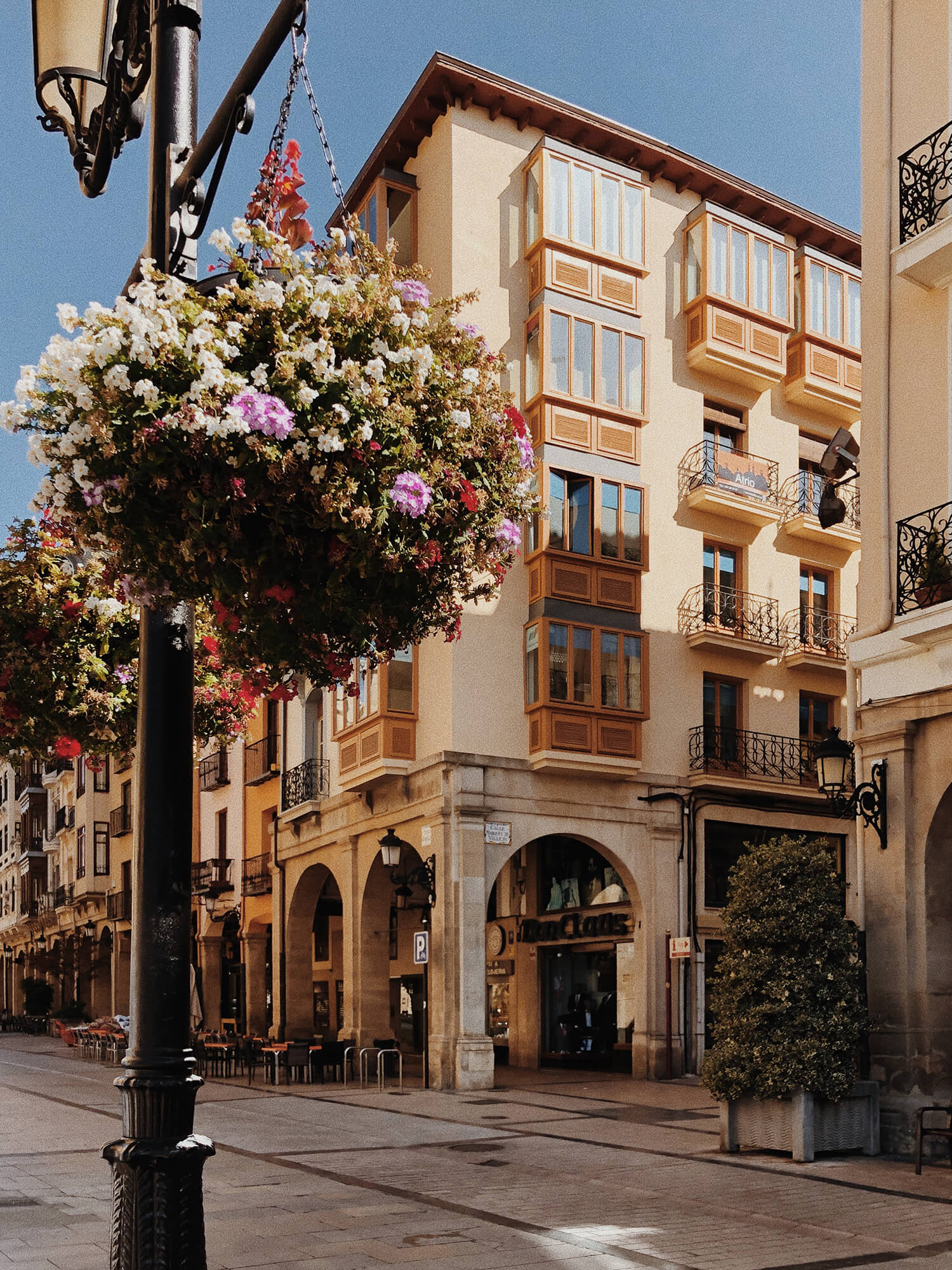 Centrum miasta, Logroño