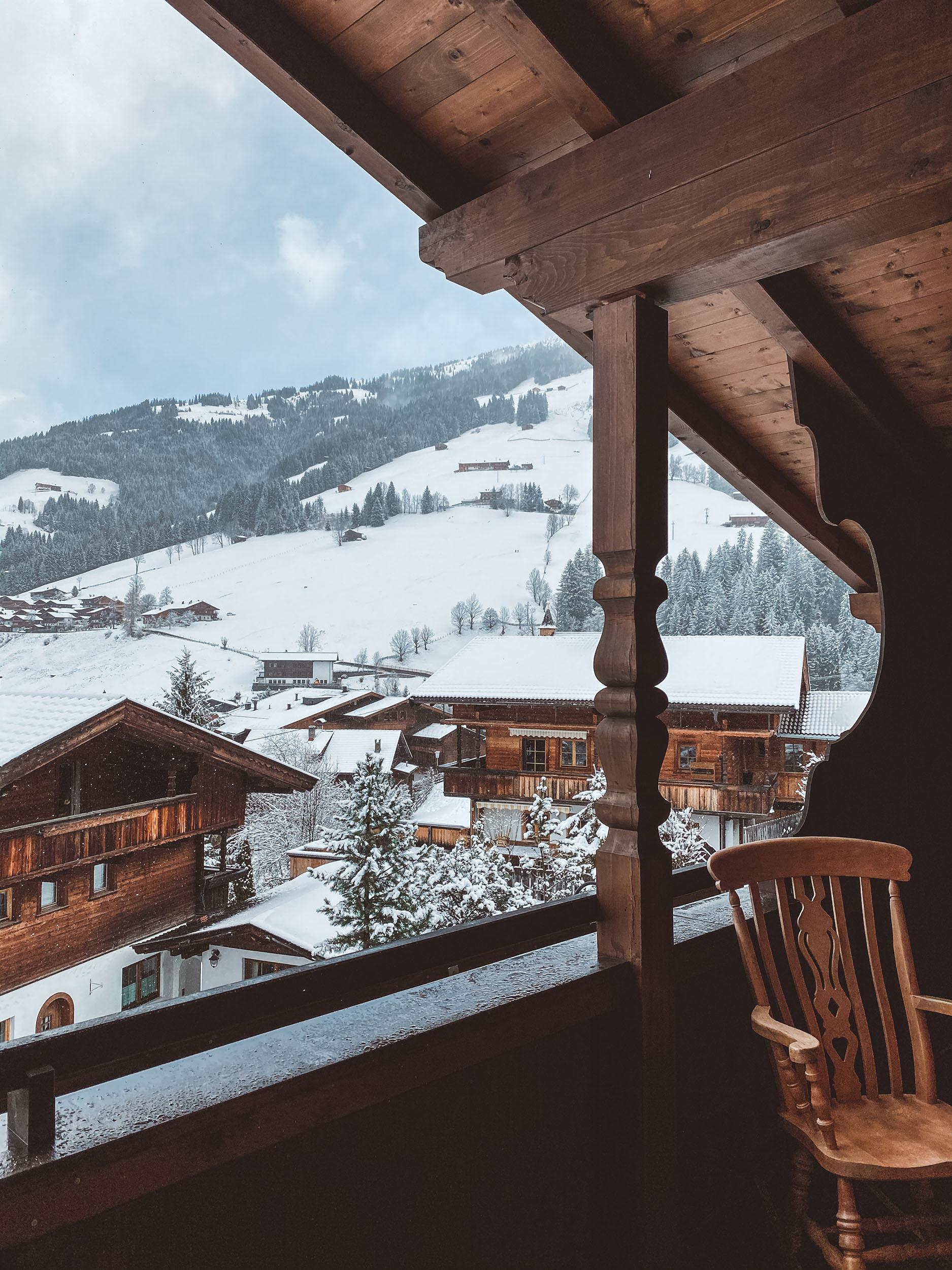 Tyrolskie miasteczko Alpbach